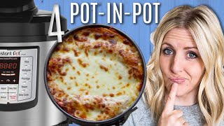 4 Pot-in-Pot Instant Pot Recipes! Perfect for Beginners