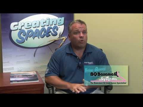 Brian Quinn, owner of BQ Basement Systems explains basement humidity, basement mold sources and how to eliminate moisture and mold sources in the basement. In Philadelphia, specially in Montgomery County which is within BQ Basement Systems service area, many houses are very old, with lime covered stone walls and thin concrete slab floors. The walls and floors of a basement sit against wet dirt. Stone walls and concrete are naturally porous and leaky. Ground water is constantly seeping through and evaporating, creating the cave-like conditions we find in most basements. High humidity in basements favor mold growth. To grow, mold needs only a combination of three things: high moisture, warmth, and a food source: organic material. Your home will always be warm enough to support mold growth. Even if you don't store organic materials in the basement, household dust has enough organic matter to feed mold. The only thing you can control in your basement is humidity. BQ Basement Systems has the perfect solution for basement humidity: Sanidry dehumidifiers. Sanidry XP can remove 110 pints of water per day, and its powerful blowing motor is strong enough to duct air into a finished basement space, while the unit itself is stored in an unfinished area. The SaniDry XP Basement Air System can dehumidify and filter your air at the same time and is three times more efficient than common hardware store dehumidifiers. Its powerful blower allows it to dehumidify up to 2,500 square feet.When it comes to protecting your basement against mold, moisture and musty odors there is no match for the SaniDry XP. So powerful, it is like a dehumidifier on steroids!