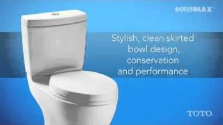 Watch TOTO Dual-Max Flushing System