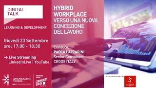 Youtube: HYBRID WORKPLACE | Digital Talk | Cegos