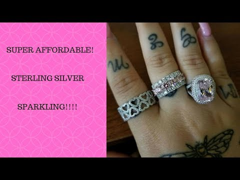Super Affordable Rings You Need In Your Life! JTV Ring Haul!