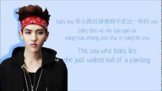 EXO-M - Peter Pan (彼得潘) (Color Coded Chinese/PinYin/Eng Lyrics)