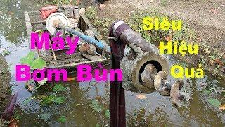 Máy Bơm Bùn(Sình)Đạt Hiệu Quả Nhất Cho Vườn Mít Thái Siêu Sớm MTPL