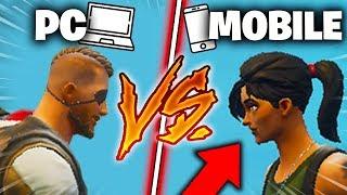 J'ai proposé au MEILLEUR joueur Fortnite *MOBILE* de faire un 1VS1...