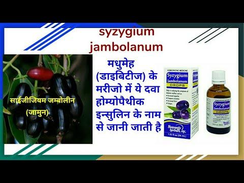 Homeo Diabetes Cure Syzygium Jambolanum