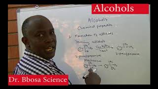 Alcohols part 2 of 2 Chemical properties By Dr Bbosa Science