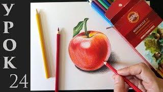 Как рисовать цветными карандашами. Основы + полезные советы.
