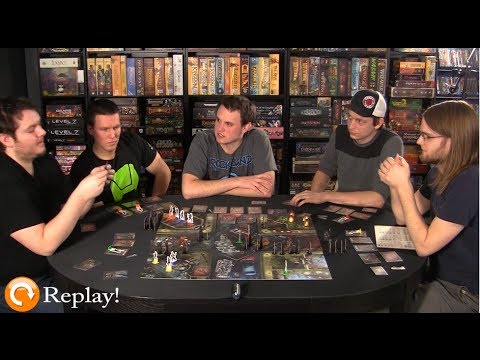 Board Game Replay - Ep. 5 - City of Horror