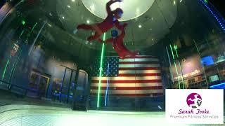 Is Indoor skydiving a workout?