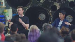 1º passageiro a dar volta à Lua no BFR da SpaceX