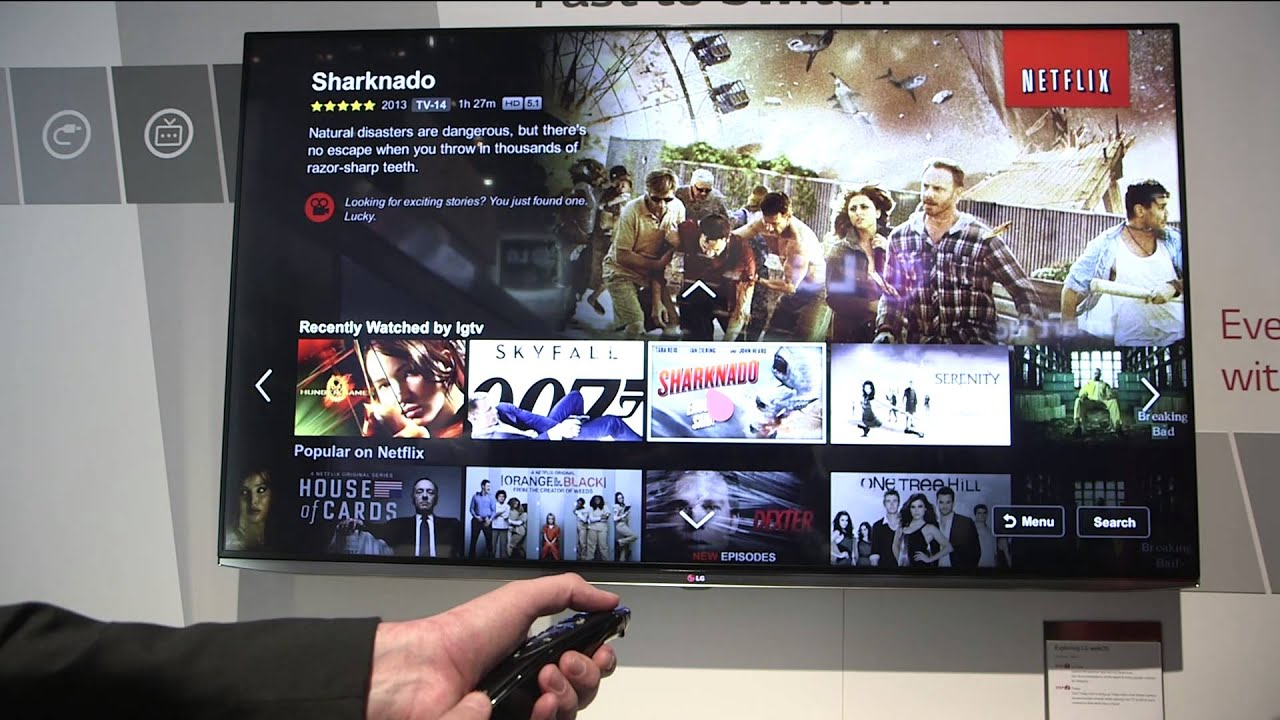 Hands-on with LG's WebOS TV interface thumbnail