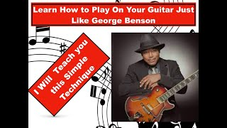 Byron Bullock's Jazz Guitar Tutorial #1