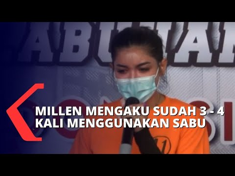 kasus narkoba millen cyrus polisi kejar teman millen yang ikut memakai sabu