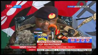 Want to be part of the KDF recruitment? These are things you will need to have