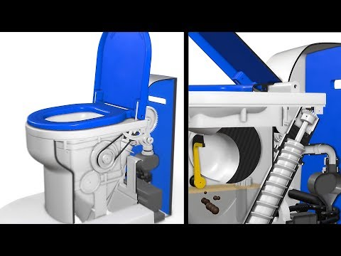 Bill Gates Backs the Waterless Toilet