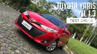 Toyota Yaris XL 1.3 - Test Drive