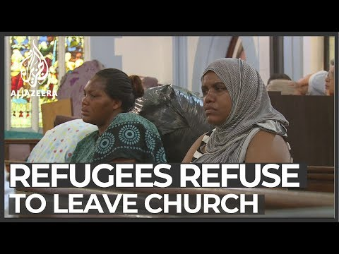 South African court orders eviction of refugees living in church
