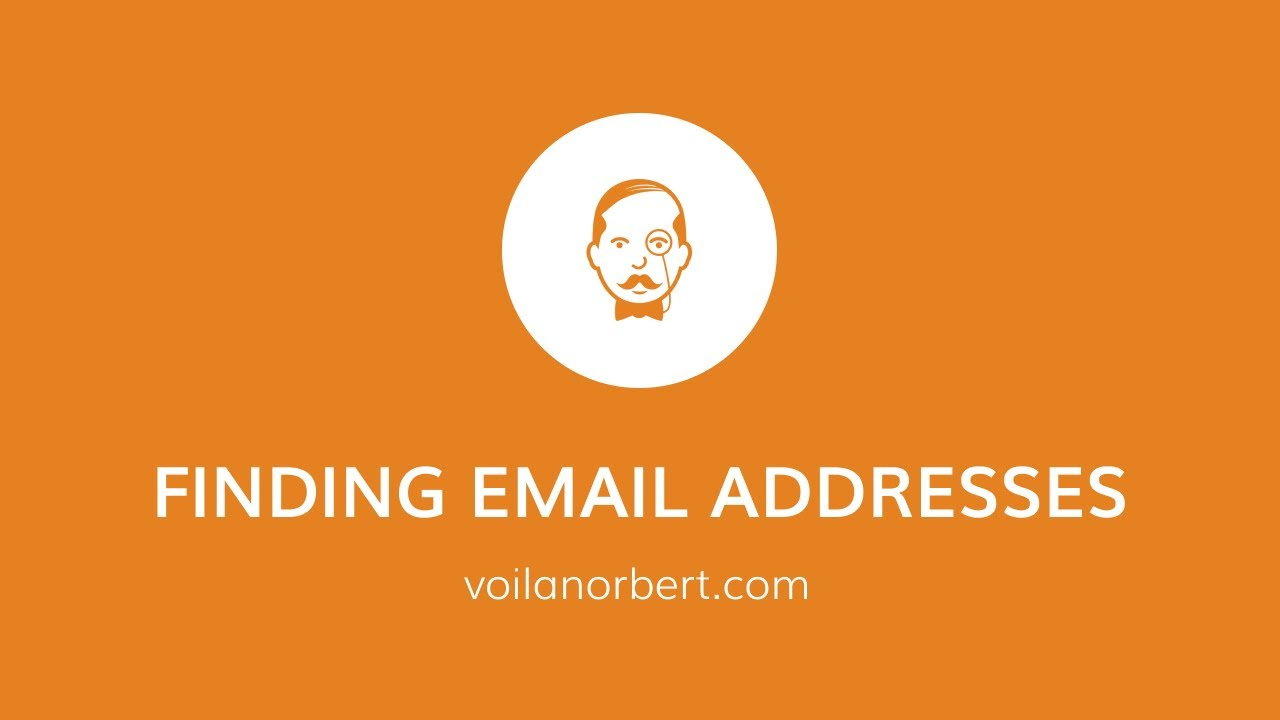 Finding Email Addresses One-By-One And In Bulk – Voilanorbert.Com Tutorial