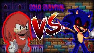 Sonic.exe: The Spirits Of Hell | Knuckles [SOLO SURVIVAL]