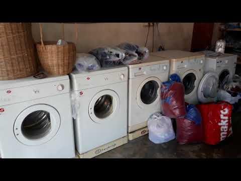 1 Euro kostet Wäsche waschen, trocknen, bügeln und zusammenlegen in Thailand!