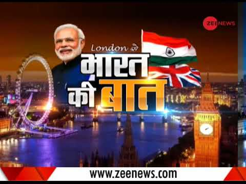 Watch: PM Modi addresses the Indian diaspora in London