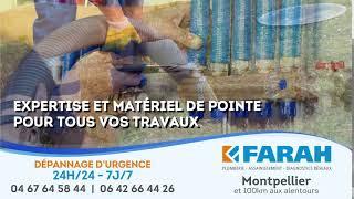 Ets. FARAH Assainissement, Diagnostics réseaux,  Plomberie Montpellier - MONTPELLIER