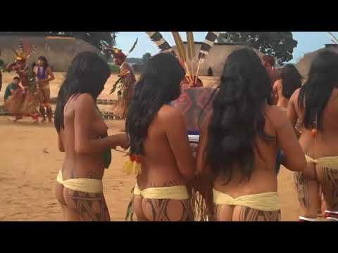 Brazil indigenous dance   Tears Of The Girls In Amazon Rain Forest - 아마존의 눈물