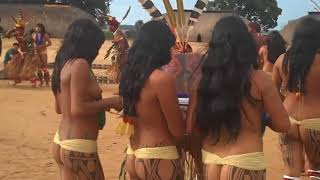 Brazil Indigenous Dance   Tears Of The Girls In Amazon Rain Forest   아마존의 눈물 EP.05