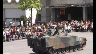 preview picture of video 'Panzerballett Besuchstag Thun'
