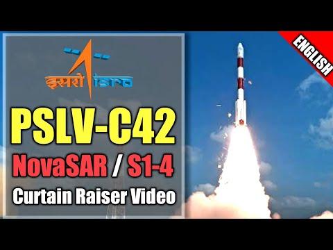 ISRO's PSLV-C42 official curtain Raiser Video