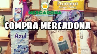 COMPRA MERCADONA | MIS PRODUCTOS DE LIMPIEZA || Stephievlog