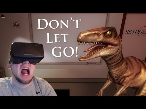 DINOS & SPIDERS W/ OCULUS! | DON'T LET GO! | IN A OFFICE?
