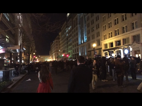 Massive protests at Deploraball!