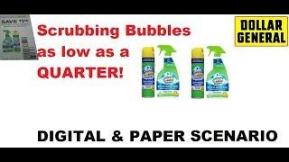 Do Not Miss This Dollar General Shoppers Scrubbing Bubbles $.25  Beginner Friendly Scenarios