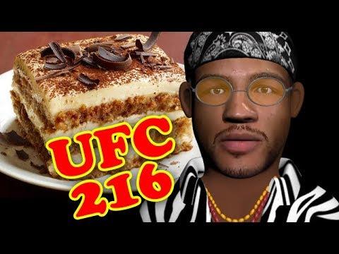 Tiramisu is Your way to cut down to 155 – UFC 216