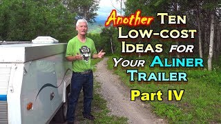 10 Low-Cost Ideas for an Aliner Trailer - Pt IV