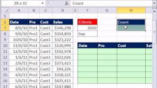 Excel Magic Trick 697: Extract Month Year Records From Transactional Data - 3 Methods