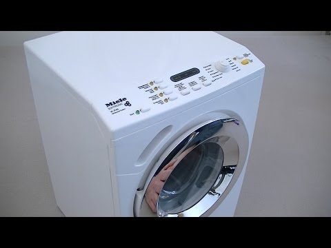 Miele Toy Washing Machine By Theo Klein Demonstration & Review