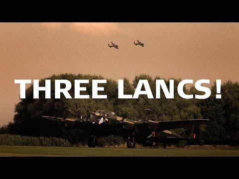 3 Lancasters 2014- Planes TV