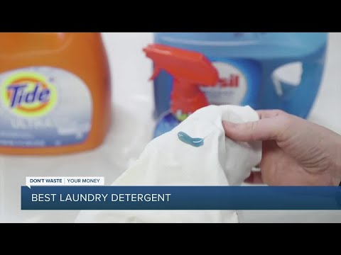 Dont Waste Your Money: Best laundry detergent