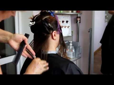 Стрижка БОБ для средней длины волос.
