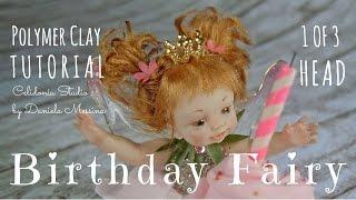 Birthday Fairy - Polymer Clay Tutorial - Part 1 Of 3
