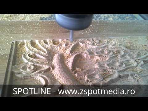 CNC router lemn, MDF, PVC - SPOTLINE