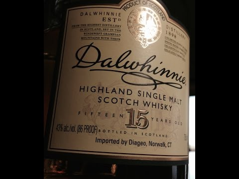 Dalwhinnie 15 Year Highland Malt Scotch Whisky review tasting and a couple STD's