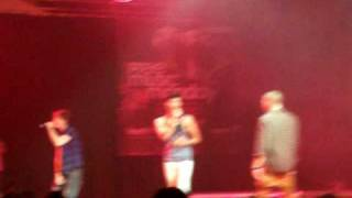 The WANTED - Lets Get Ugly live!