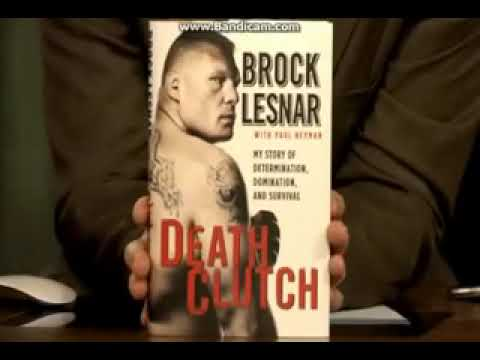 Brock Lesner Lifestory Book Death Clutch Mp3