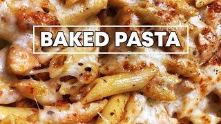 Baked Pasta Recipe | Italian Cuisine | Homemade Pasta Sauce