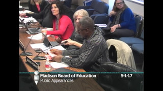 Board Of Education Special Meetings And Instruction Work Group 5/1/2017