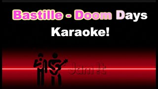 Bastille   Doom Days [Full Band Karaoke   REAL Instruments]