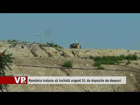 România trebuie să închidă urgent 51 de depozite de deșeuri
